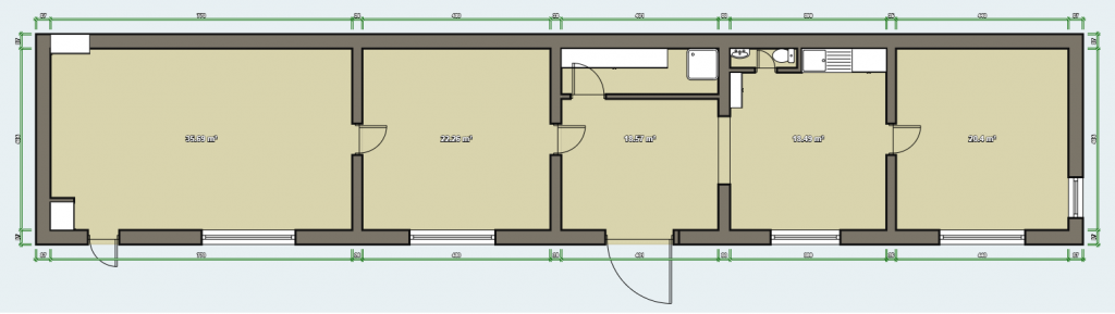 Olbersgatan 12, Unfold Your Mat, Yoga studio floor plan