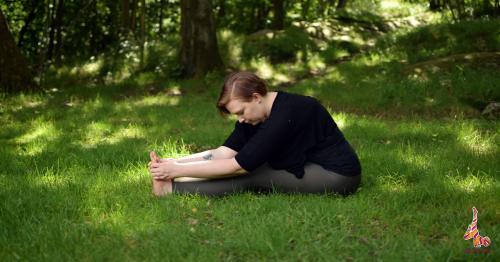 Forward bending yoga